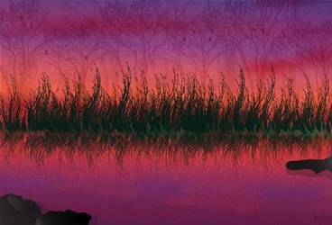 Lake Flat-design by MiR-S
