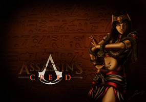 Amunet, the egyptian assassin by Lidime