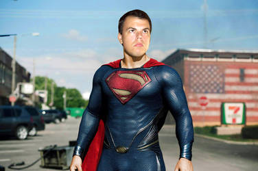 Me as Superman (from Man Of Steel) by Super-TyBone82