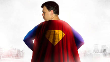Ty-Bone as Superman's Red Cape: Christopher Reeve by Super-TyBone82