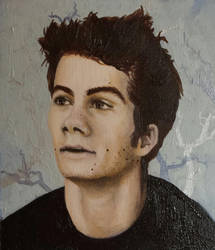 portrait practice Dylan O'Brien by DennisM00re