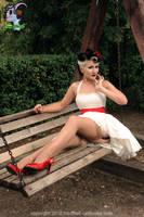 In White II by LadyVampyrica