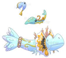 Reef Pokemon by HallowDew