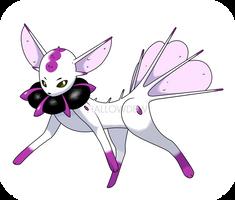 Poison Eevee Evolution by HallowDew