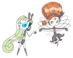 MEGA MELOETTA by HallowDew