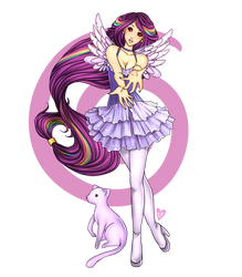Gaia Commish: Lady Angel of Light 2 by zylair