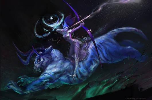 Tyrande Whisperwind(3) by SombraSister