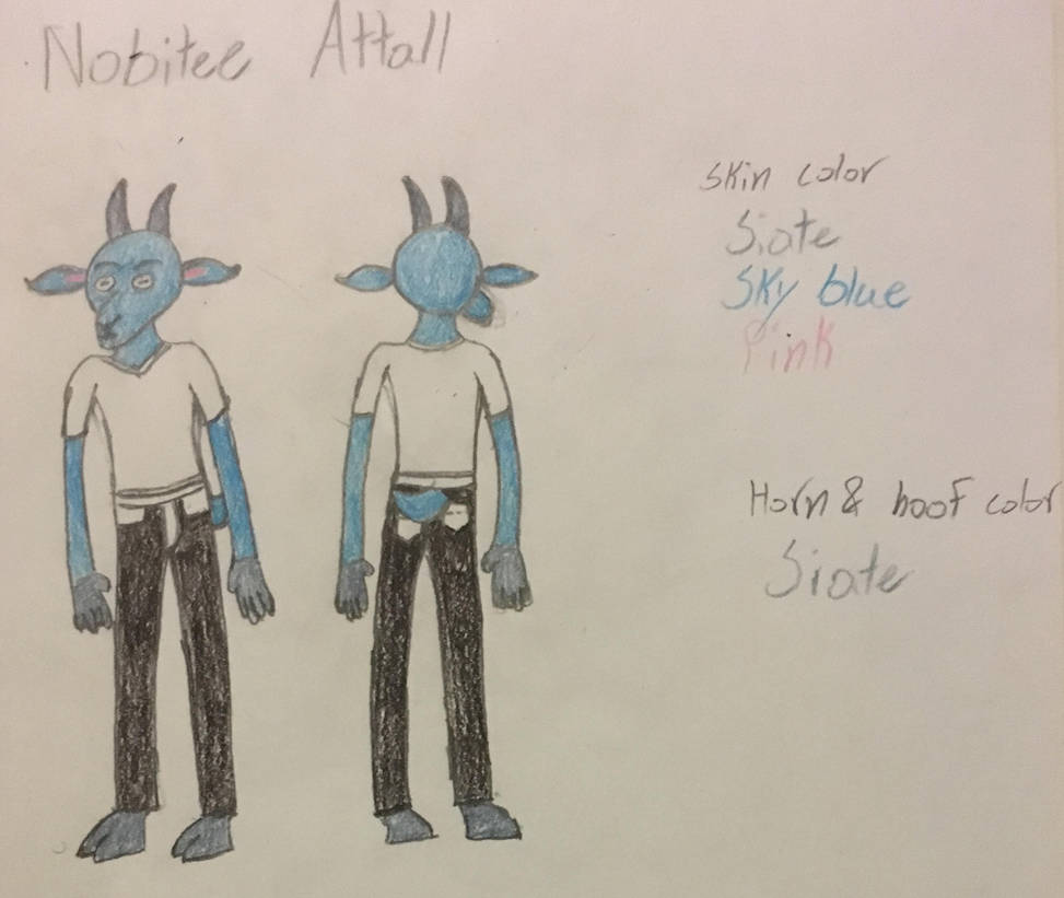 Nobitee Attall reference sheet by NobiteeAttall