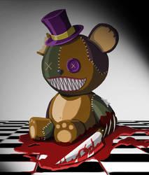 Murder Teddy by birdmanstudio