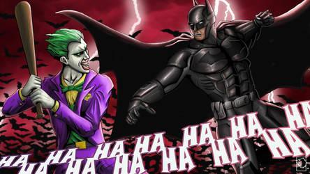 Fight a Bat with a Bat by birdmanstudio