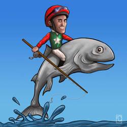 Ride That Fish! by birdmanstudio