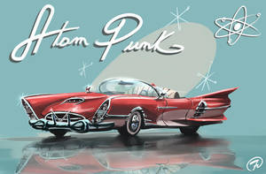 Atom Punk car 001 by Fernand0FC