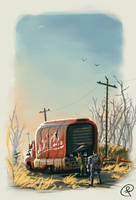 Nuka Cola truck by Fernand0FC