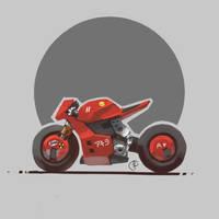 Cyberpunk bike by Fernand0FC