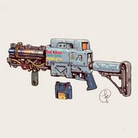 A laser rifle by Fernand0FC