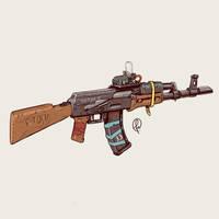 Post-soviet Survivalist rifle by Fernand0FC