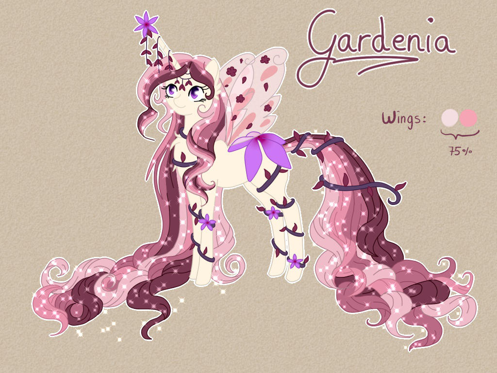 Queen Gardenia by Blumydia