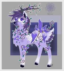 Iris Deerflowerpony Custom by Blumydia