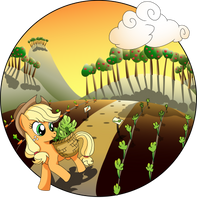 Sunshine and Celery Stalks Tribute by Bronytoss