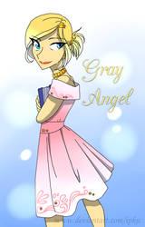 Gray Angel by Ipku