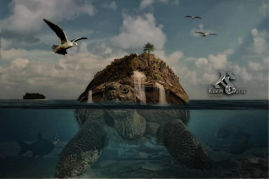Turtle Island by SlichoArt