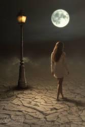 Midnight Stroll by SlichoArt