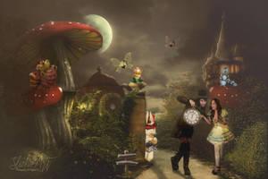 Return To Wonderland by SlichoArt