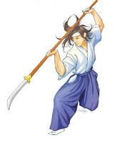 naginata 1 by Little-Ginkgo