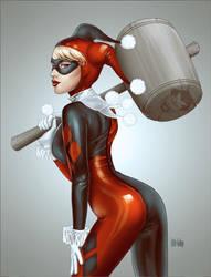 Harley Quinn Fanart by Little-Ginkgo