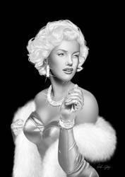 look like Miss Monroe by Little-Ginkgo