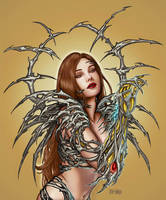 Witchblade Fanart finished by Little-Ginkgo
