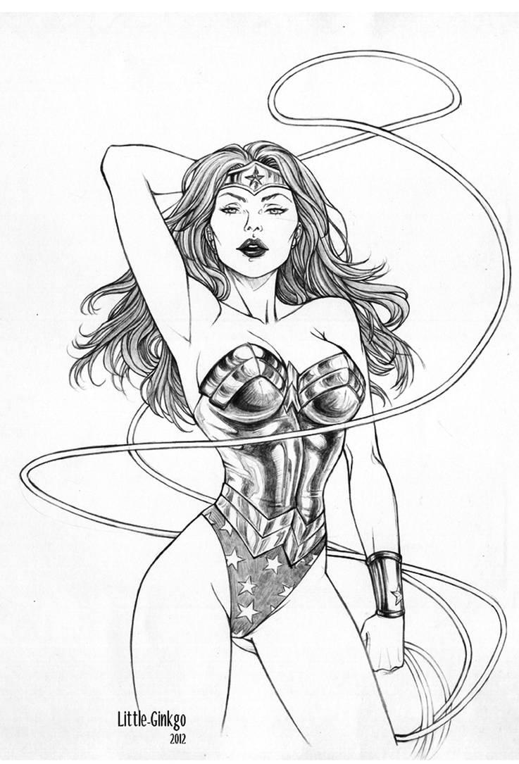 Wonder Woman Fanart by Little-Ginkgo