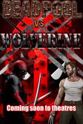 Deadpool VS Wolverine by smejkalj