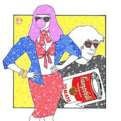 Andy Warhol by pbdotman