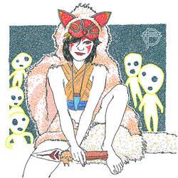 Princess Mononoke - 01 by pbdotman