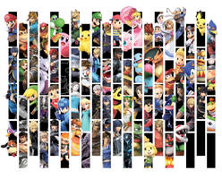 Super Smash Bros. Ultimate Wallpaper by ManyLines