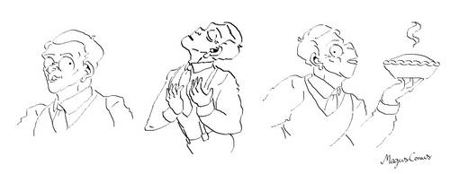 Some random Bertie Wooster poses for your day by MagusConus