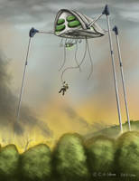 The Fighting Machine by Avrin-ART