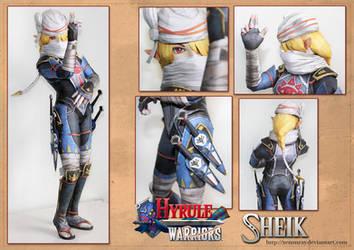 Hyrule Warriors Sheik Papercraft Download by Avrin-ART