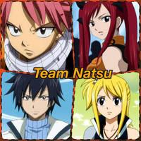 Team Natsu by Kiko-E-Coyona