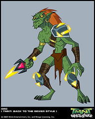Superquest Orc by GoldenKingranger1995