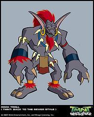 Superquest Rock Troll by GoldenKingranger1995