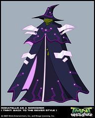 Superquest Donetello Sorcerer by GoldenKingranger1995