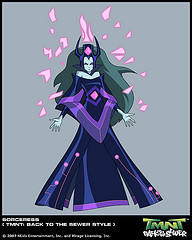 Superquest Sorceress by GoldenKingranger1995