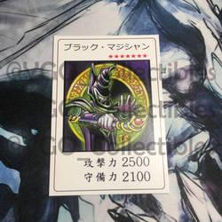 Yugioh Season 0 Dark Magician custom card by GoldenKingranger1995
