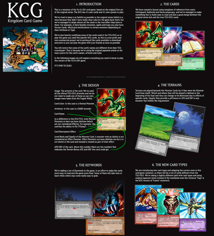 Yugioh Trading Card Game kingdom edition by GoldenKingranger1995