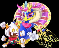 PointC: Free Queen Sectonia and Taranza JDolly by Wolfwrathknight