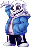 .:The Name is Sans:. by Wolfwrathknight