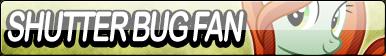 Shutter Bug Fan Button by Agent--Kiwi