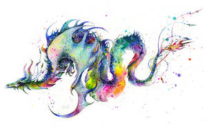 Dragon Tattoo by TanyaShatseva